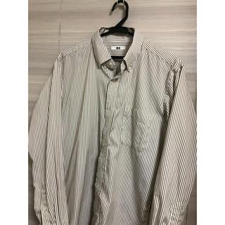 ユニクロ(UNIQLO)のUNIQLO ファインクロスドビー ボタンダウンシャツ(シャツ)