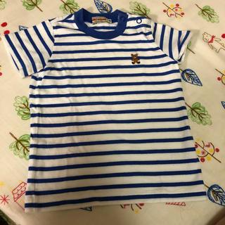 ミキハウス(mikihouse)のるん様専用           ミキハウス 半袖 Tシャツ 80(Tシャツ)