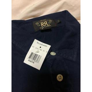 ダブルアールエル(RRL)の新品・未使用 RRL ポロシャツ NAVY ネイビー Sサイズ(ポロシャツ)