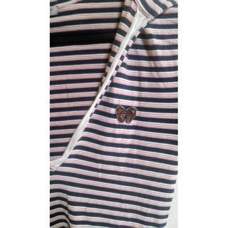 ボッテガヴェネタ(Bottega Veneta)のボッテガヴェネタ トップス ボーダー(Tシャツ(半袖/袖なし))