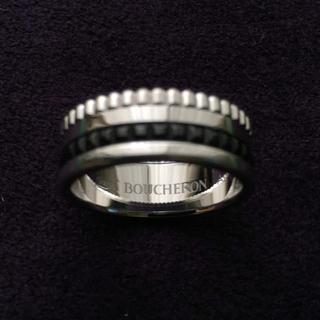 ブシュロン(BOUCHERON)のブシュロン キャトル ブラックリングスモール 49号(リング(指輪))