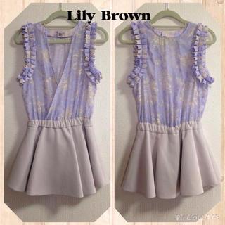 リリーブラウン(Lily Brown)の💠Lily Brownのロンパース(ミニワンピース)