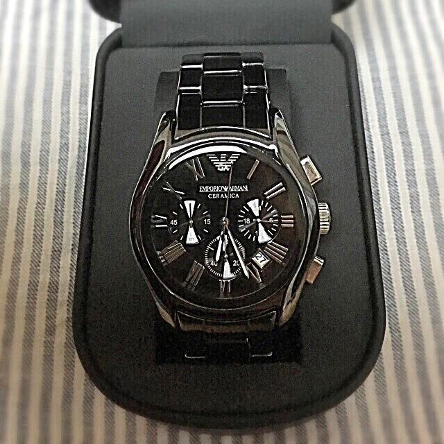 b9f415bbf7 Armani - エンポリオアルマーニ AR1400腕時計の通販 by ゆきネコ's shop ...