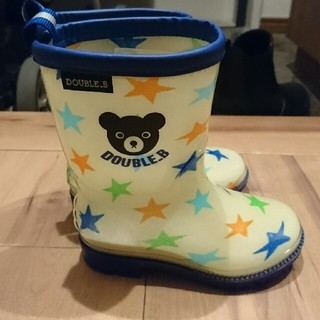 ダブルビー(DOUBLE.B)のエース様専用 ミキハウス ダブルビー DOUBLE.B 長靴 14㎝(長靴/レインシューズ)