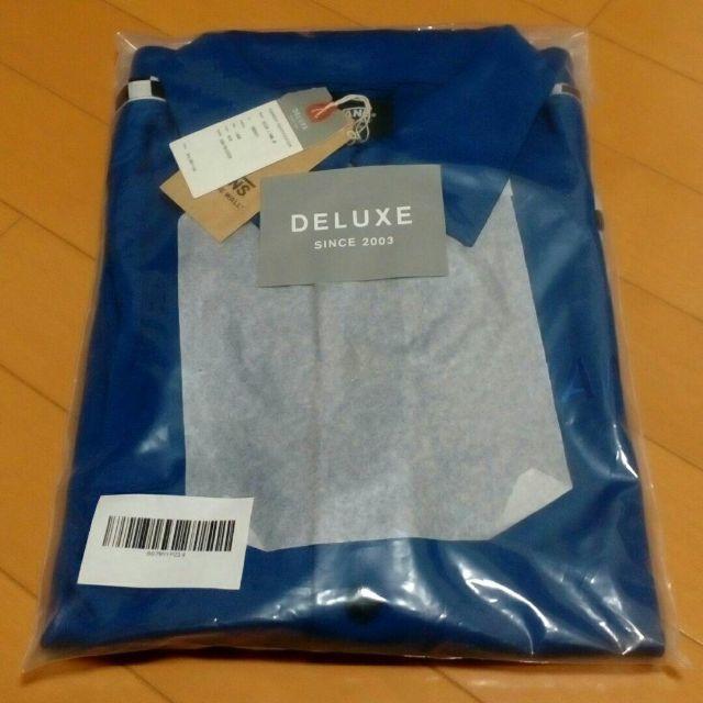 DELUXE(デラックス)の新品 DELUXE x VANS ジャケット 青 size.L メンズのトップス(ジャージ)の商品写真
