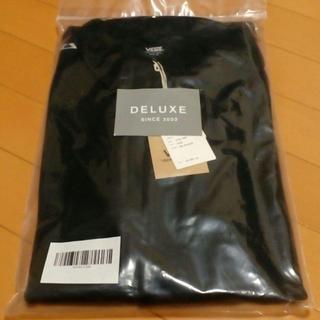 デラックス(DELUXE)の新品 DELUXE x VANS ジャージ ジャケット 黒 size.XL(ジャージ)