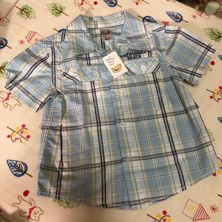 新品未使用☆ 半袖シャツ  90(Tシャツ/カットソー)