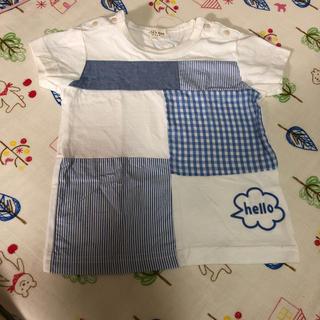 キッズズー(kid's zoo)の新品未使用☆kid's zoo 半袖 Tシャツ 70(Tシャツ)