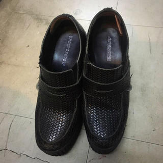 アンダーグラウンド(UNDERGROUND)のgvgvコラボ厚底 pameopose punkcake faketokyo(ローファー/革靴)