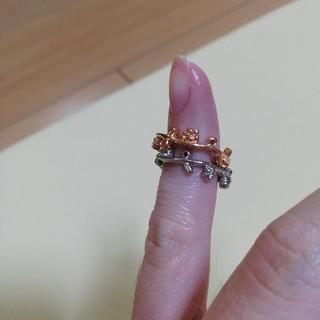 二本セット! UZU お花のピンキーリング(リング(指輪))