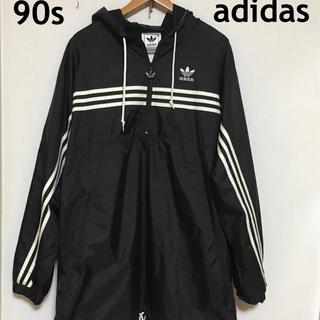38b0ea5511573 アディダス(adidas)のレア!90s adidas アディダス ナイロンジャケット アノラック(ナイロンジャケット
