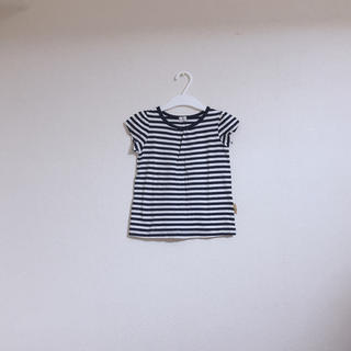 シマムラ(しまむら)のボーダー    Tシャツ(Tシャツ/カットソー)