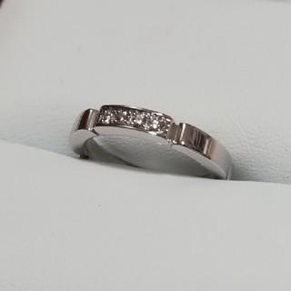 カルティエ(Cartier)のカルティエ マイヨンパンテール ホワイトゴールド WG(リング(指輪))
