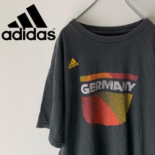アディダス(adidas)の古着 90's アディダス パフォーマンスロゴ  ドイツ Tシャツ(Tシャツ/カットソー(半袖/袖なし))