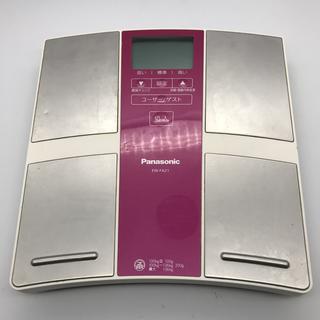 パナソニック(Panasonic)の動作品 パナソニック Panasonic EW-FA21 体重計(体重計/体脂肪計)