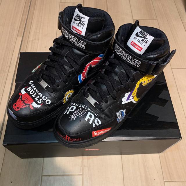 cheap for discount b0308 be5e8 Supreme(シュプリーム)のSupreme x NBA x Air Force 1 Mid  07 メンズ