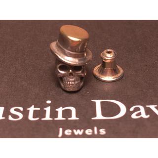 ジャスティンデイビス(Justin Davis)のJustin Davis スカル ピアス(ピアス(片耳用))