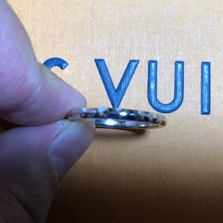 ルイヴィトン(LOUIS VUITTON)の美品 ルイヴィトン アリアンス モノグラム・アンフィニ リングK18WG #65(リング(指輪))