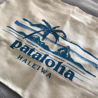 パタゴニア(patagonia)の【ハワイ限定】【新品】パタゴニア パタロハ ハレイワ トートバッグ小【正規品】(トートバッグ)