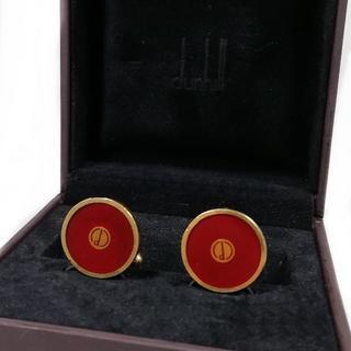 ダンヒル(Dunhill)の希少 ダンヒル サークル カフス ゴールド エンジ メンズ TH17(カフリンクス)