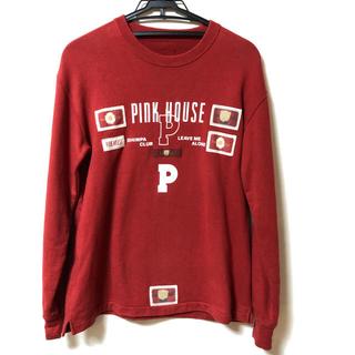 ピンクハウス(PINK HOUSE)の【専用】PINK HOUSE トレーナー 赤 白 グレー 3点(トレーナー/スウェット)