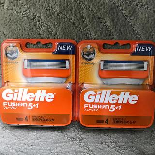ジレ(gilet)のジレット フュージョン5+1 NEWパッケージ 替刃 合計8個(日用品/生活雑貨)