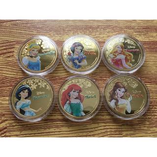 ディズニー(Disney)のコイン 6枚セット ★Disney・ディズニー★(貨幣)