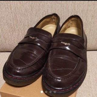 カスタネ(Kastane)のKastane コインローファー ブラウン(ローファー/革靴)