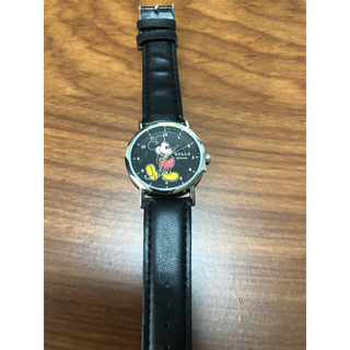 ディズニー(Disney)の2019年mini6月号付録 ミッキー腕時計(ファッション)