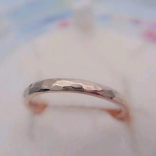 アガット(agete)のagete 槌目 リングK10(リング(指輪))