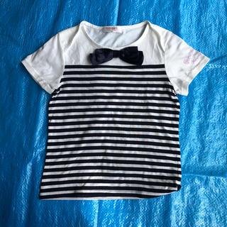 パーソンズキッズ(PERSON'S KIDS)のパーソンズ 150 リボン Tシャツ(Tシャツ/カットソー)