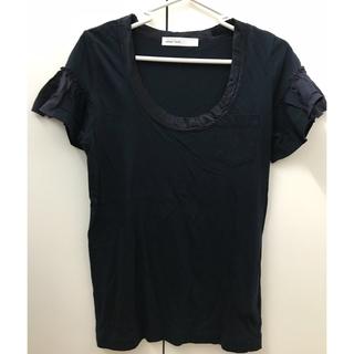 サカイラック(sacai luck)の新品未使用 sacai luck Tシャツ ネイビー 2サイズ(Tシャツ(半袖/袖なし))