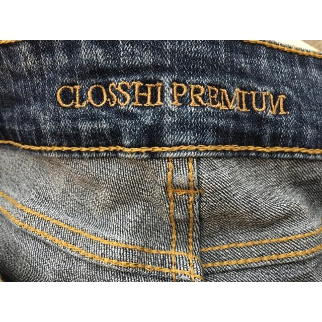 しまむら(シマムラ)のCLOSSHI(クロッシー) ストレッチデニム サイズ58、レディース、パンツ レディースのパンツ(デニム/ジーンズ)の商品写真