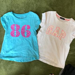 ギャップ(GAP)の【値下げ】GAP Tシャツ 2枚 120cm(Tシャツ/カットソー)