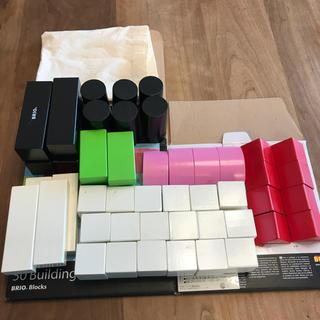 ブリオ(BRIO)のBRIO 50Building Blocks 積み木 おまけ、箱付き(積み木/ブロック)