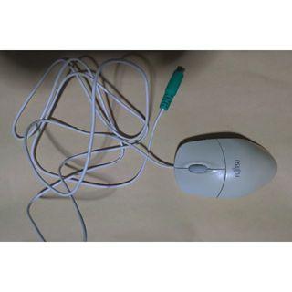 フジツウ(富士通)の光学式マウス  PS/2 FUJITSU(PC周辺機器)