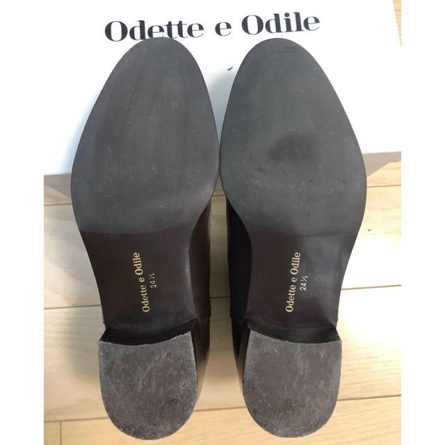Odette e Odile(オデットエオディール)のodette e odile サイドゴアショートブーツ レディースの靴/シューズ(ブーツ)の商品写真