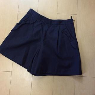 クチュールブローチ(Couture Brooch)のショートパンツ Couture brooch ネイビー 38(ショートパンツ)