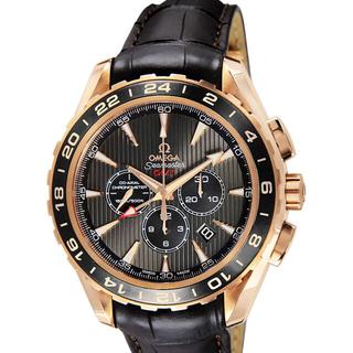 オメガ(OMEGA)の[オメガ]OMEGA 腕時計 アクアテラ ブラック文字盤 コーアクシャル自動巻 (腕時計(アナログ))