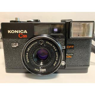 コニカミノルタ(KONICA MINOLTA)のkonica C35 アンティークカメラ コニカ(フィルムカメラ)
