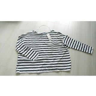 ジーユー(GU)のボーダーフォルミーT(Tシャツ(長袖/七分))
