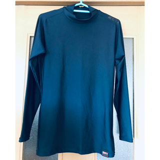 ZETT - ①ZETT 長袖アンダーシャツ Lサイズ 紺色