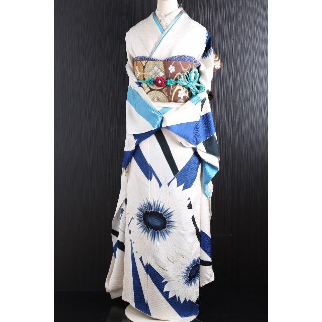 振袖フルセット 正絹振袖セット 染の北川 レディースの水着/浴衣(振袖)の商品写真