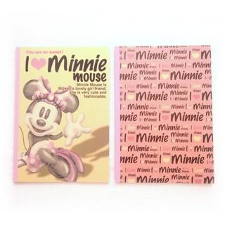 ミニーマウス(ミニーマウス)のミニーマウス B5ノート 2冊セット 隠れミッキー ディズニー(ノート/メモ帳/ふせん)