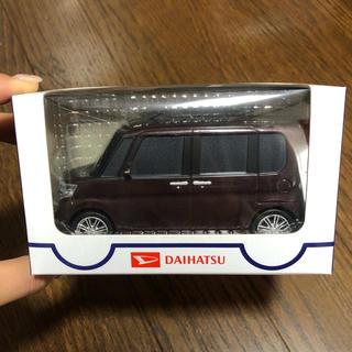 ダイハツ(ダイハツ)のタントカスタム☆プルバックカー 赤紫(ミニカー)
