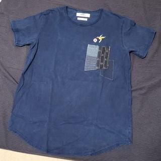 ファンダメンタルアグリーメントラグジュアリー(FUNDAMENTAL AGREEMENT LUXURY)のアキーートさん専用。 FDMTL インディゴ INDIGO 刺し子 (Tシャツ/カットソー(半袖/袖なし))