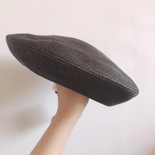 トゥモローランド(TOMORROWLAND)の新品2万 KIJIMA TAKAYUKI サマー ベレー帽 キジマタカユキ 夏用(ハンチング/ベレー帽)