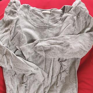 ジーユー(GU)のGU 薄手ニット(Tシャツ(長袖/七分))