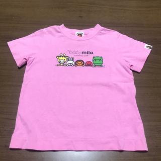 アベイシングエイプ(A BATHING APE)のBAPE KIDS Tシャツ100センチ(Tシャツ/カットソー)