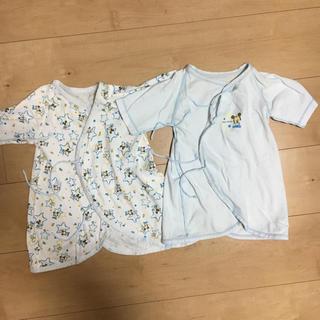 ニシマツヤ(西松屋)の新生児肌着 短肌着 コンビ肌着(肌着/下着)